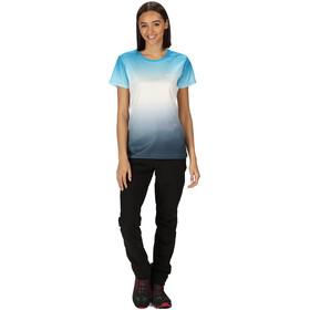 Regatta Fingal V T-Shirt Damen blue aster gradi
